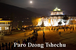 paro tsechu blessings