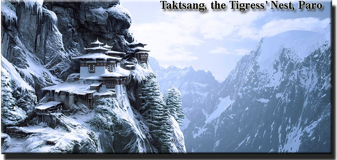 taktsang under snow