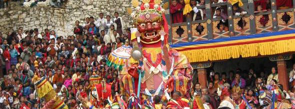 Religion in Bhutan and Festivals | Tsechus